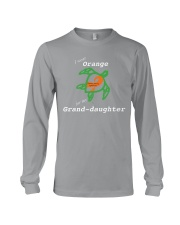 I wear Orange for my Grand-daughter Long Sleeve Tee thumbnail