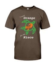 I wear Orange for my Niece Premium Fit Mens Tee thumbnail