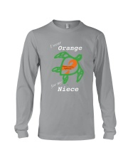 I wear Orange for my Niece Long Sleeve Tee thumbnail