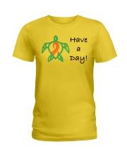 Have a Day b Ladies T-Shirt thumbnail