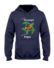 I wear Orange for my Pops Hooded Sweatshirt thumbnail