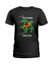 I wear Orange for my Uncle Ladies T-Shirt thumbnail