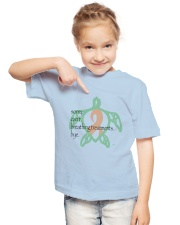 Sorry Breathing Treatments  B Youth T-Shirt lifestyle-youth-tshirt-front-2