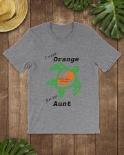 I wear Orange for my Aunt b Classic T-Shirt lifestyle-mens-crewneck-front-18