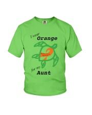 I wear Orange for my Aunt b Youth T-Shirt thumbnail