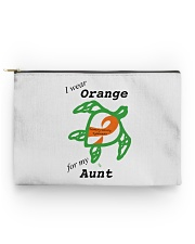 I wear Orange for my Aunt b Accessory Pouch - Standard thumbnail