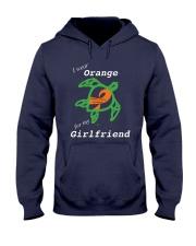 I wear Orange for my Girlfriend Hooded Sweatshirt thumbnail