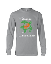 I wear Orange for my Girlfriend Long Sleeve Tee thumbnail