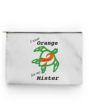 I wear Orange for my Mister b Accessory Pouch - Standard thumbnail