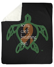 """Sorry Breathing Sherpa Fleece Blanket - 50"""" x 60"""" thumbnail"""