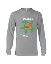 I wear Orange for my Mom Long Sleeve Tee thumbnail