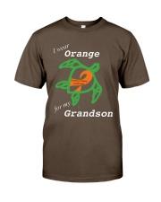 I wear Orange for my Grandson Premium Fit Mens Tee thumbnail