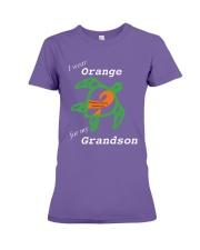 I wear Orange for my Grandson Premium Fit Ladies Tee thumbnail