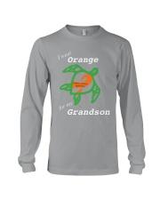 I wear Orange for my Grandson Long Sleeve Tee thumbnail