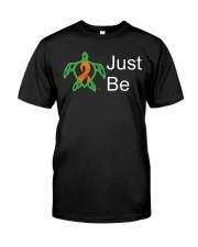 PCD Just Be Classic T-Shirt front