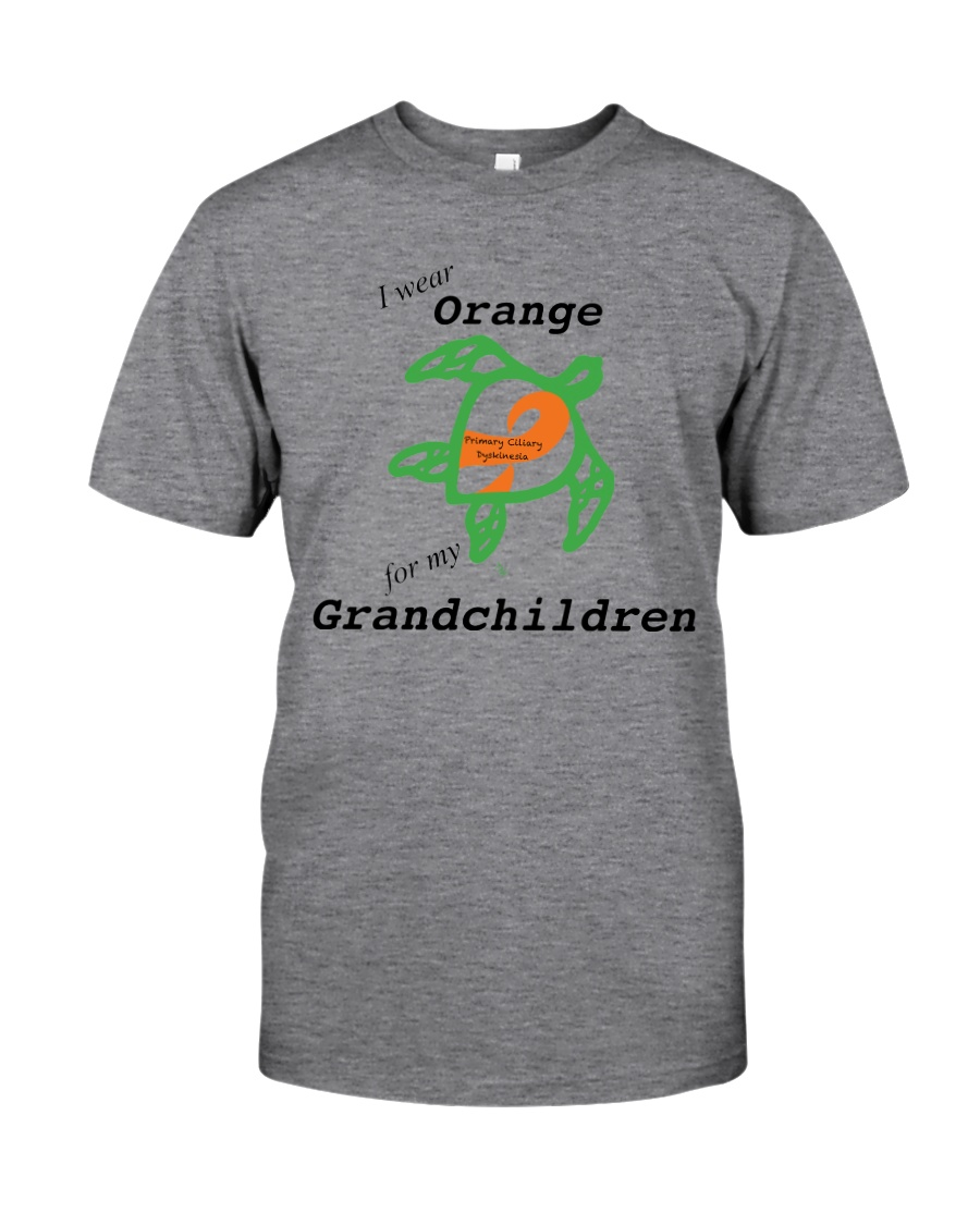 I wear Orange for my Grandchildren b Classic T-Shirt