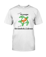 I wear Orange for my Grandchildren b Premium Fit Mens Tee thumbnail