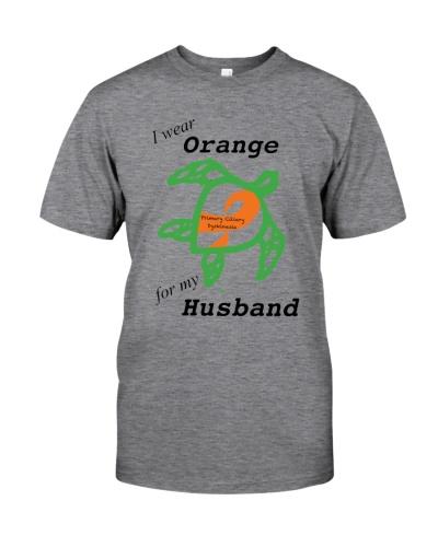 I wear Orange for my Husband b
