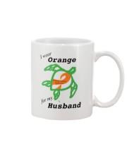 I wear Orange for my Husband b Mug thumbnail