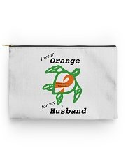 I wear Orange for my Husband b Accessory Pouch - Standard thumbnail