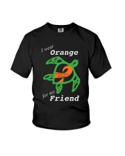I wear Orange for my Friend Youth T-Shirt thumbnail