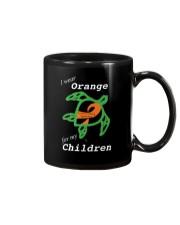 I wear Orange for my Children Mug thumbnail