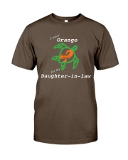 I wear Orange for my Daughter-in-law Premium Fit Mens Tee thumbnail