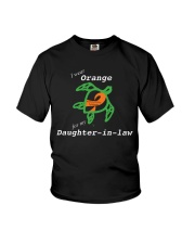 I wear Orange for my Daughter-in-law Youth T-Shirt thumbnail