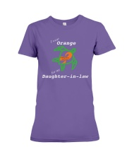 I wear Orange for my Daughter-in-law Premium Fit Ladies Tee thumbnail