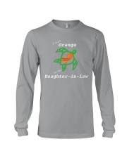 I wear Orange for my Daughter-in-law Long Sleeve Tee thumbnail