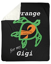 "I wear Orange for my Gigi Sherpa Fleece Blanket - 50"" x 60"" thumbnail"