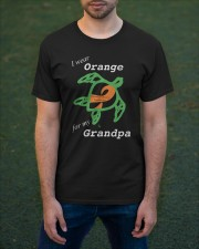 I wear Orange for my Grandpa Classic T-Shirt apparel-classic-tshirt-lifestyle-front-42