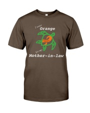 I wear Orange for my Mother-in-law Premium Fit Mens Tee thumbnail
