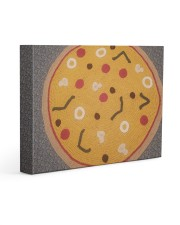 Pizza Aphgan 14x11 Gallery Wrapped Canvas Prints thumbnail