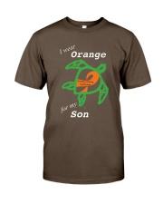 I wear Orange for my Son Premium Fit Mens Tee thumbnail