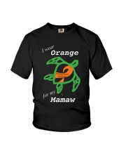 I wear Orange for my Mamaw Youth T-Shirt tile