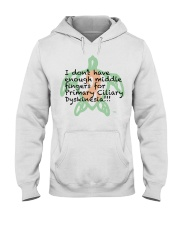 PCD Middle Finger B Hooded Sweatshirt thumbnail