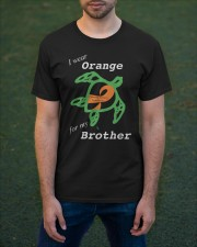 I wear Orange for my Brother Classic T-Shirt apparel-classic-tshirt-lifestyle-front-42