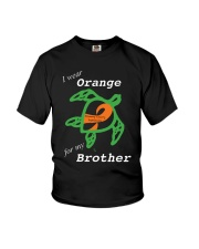 I wear Orange for my Brother Youth T-Shirt thumbnail