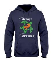 I wear Orange for my Brother Hooded Sweatshirt thumbnail