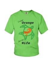 I wear Orange for my Wife b Youth T-Shirt thumbnail