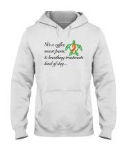 PCD Coffee-Sweatpants-Breathing Treatment Hooded Sweatshirt thumbnail