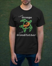 I wear Orange for my Grandfather Classic T-Shirt apparel-classic-tshirt-lifestyle-front-42