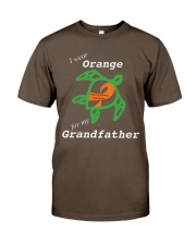I wear Orange for my Grandfather Premium Fit Mens Tee thumbnail