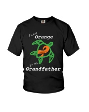 I wear Orange for my Grandfather Youth T-Shirt thumbnail