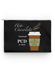 Hot Chocolate because PCD is Hard Accessory Pouch - Standard thumbnail