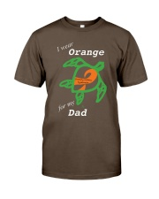I wear Orange for my Dad Premium Fit Mens Tee thumbnail
