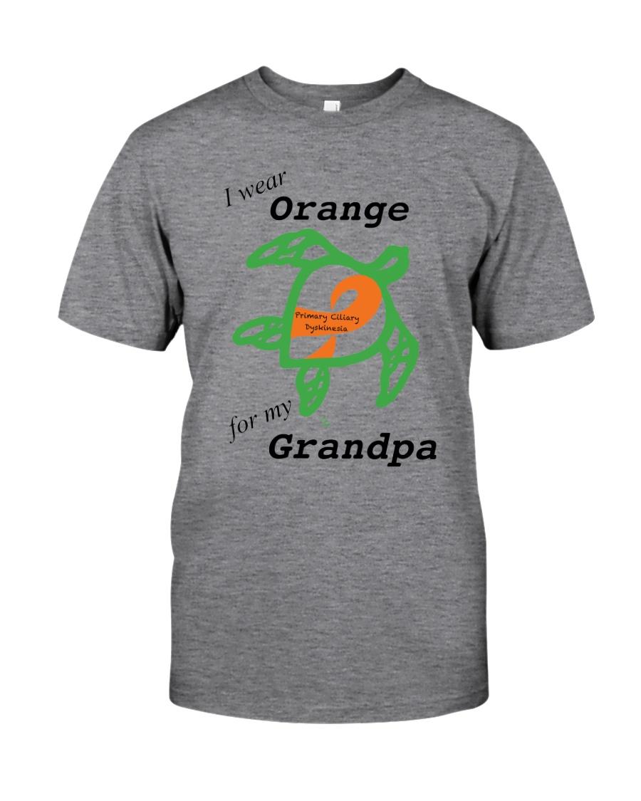 I wear Orange for my Grandpa b Classic T-Shirt