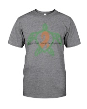 Ask me about Primary Ciliary Dyskinesia b Classic T-Shirt front