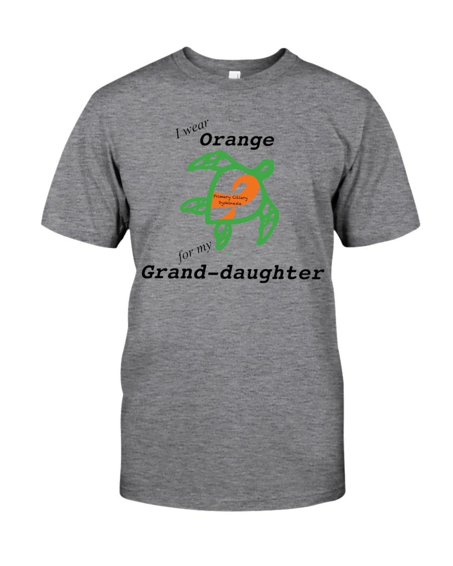 I wear Orange for my Grand-daughter b Classic T-Shirt